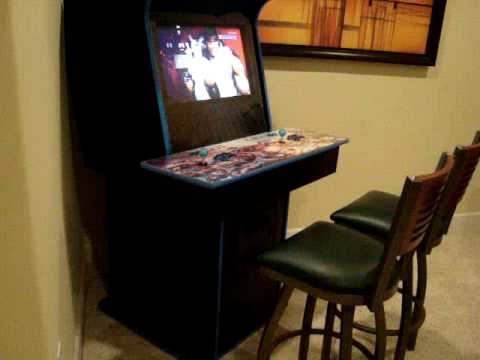 My Arcade Cabinet - Mame/PS3 Arcade - YouTube
