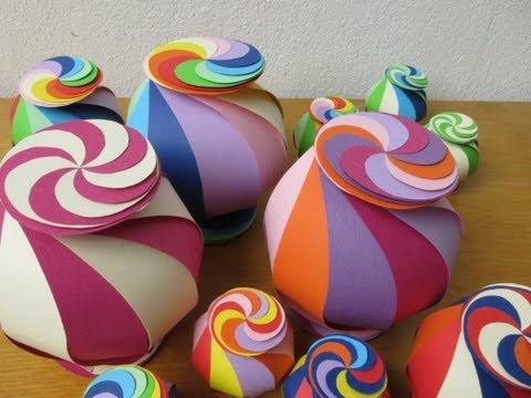 sliceform - papercraft - twisting candy wrap - tutorial - dutchpapergirl
