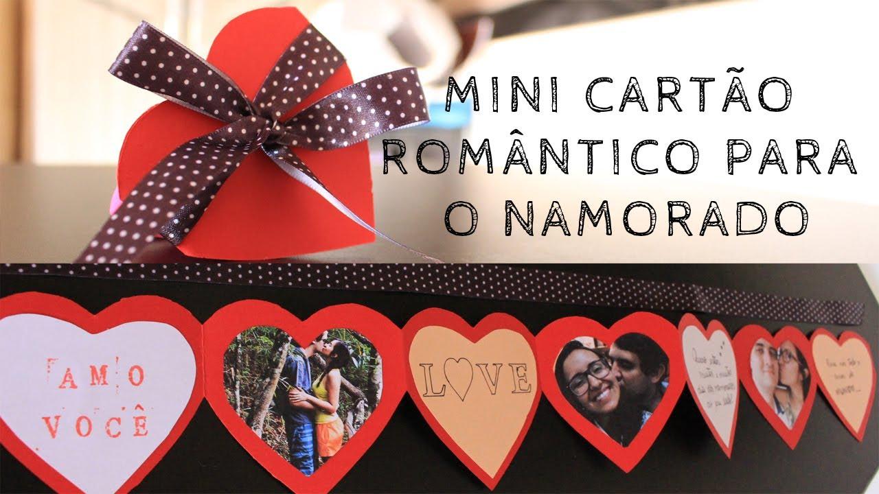 DIY: Mini Cartão Sanfonado De Corações
