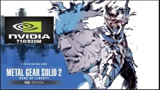 Metal Gear Solid 2: Sons of Liberty HD + Windows 8/10 ON Nvidia 710M/820M/Intel HD Graphics