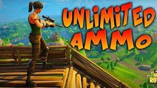UNLIMITED AMMO! Fortnite Battle Royale
