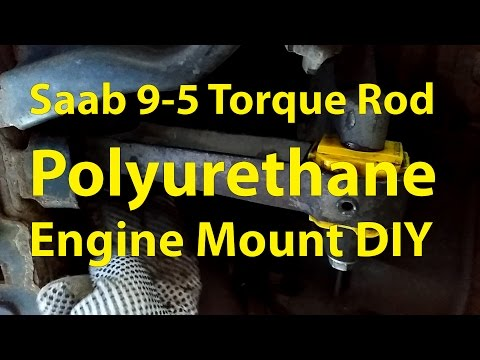 Saab 9-5 DIY: Torque Rod Powerflex Bushings – Trionic Seven