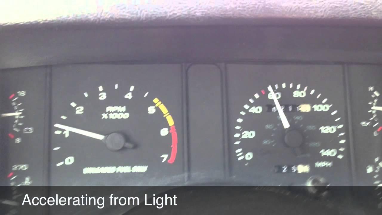 Bouncing Foxbody Mustang Speedometer Youtube