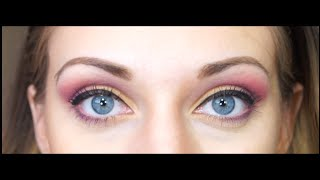 TUTORIAL: Colorful Eyeshadow using Coastal Scents Thumbnail