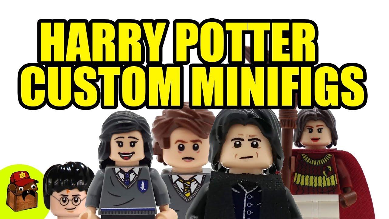 Lego Harry Potter Custom Minifigures 2018 - YouTube
