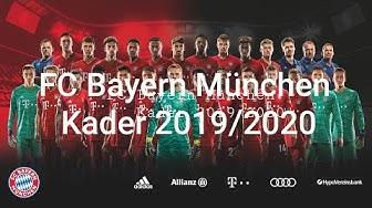 FC Bayern München Kader Saison 2019/20