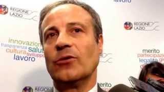 Michele Civita, assessore regionale ambiente e trasporti, spiega futuro Cotral e Lazio Ambiente