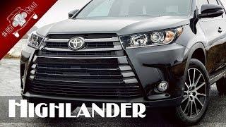 видео Тест-драйв Toyota Highlander 2017: обновление семиместного кроссовера