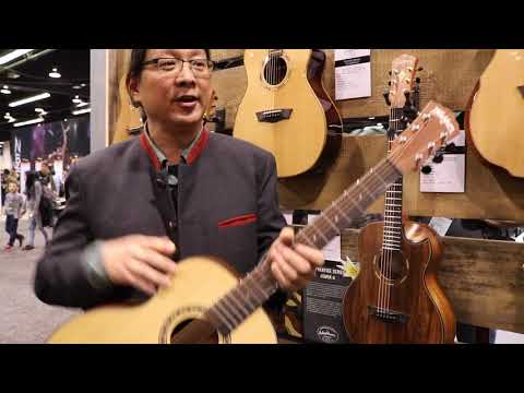 Jonathan Lee of Washburn Guitars at NAMM 2018