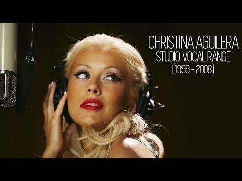 Christina Aguilera's Vocal Range (Studio) [1999-2008]