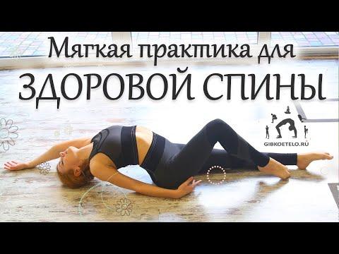 Простые упражнения для ЗДОРОВОЙ СПИНЫ / Мягкая практика на ПОДВИЖНОСТЬ ПОЗВОНОЧНИКА и СУСТАВОВ