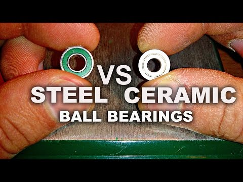 Steel VS Full Ceramic Bearings (Friction Test)