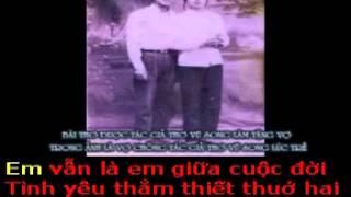 EM CỦA NGÀY XƯA -Thơ : Vũ Song - Phổ nhạc : Hải Anh karaoke khong loi