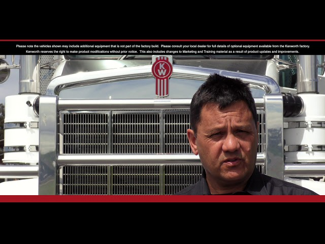 Kenworth T909 Driver Training Introduction