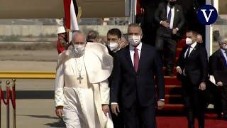 El Papa aterriza en Bagdad