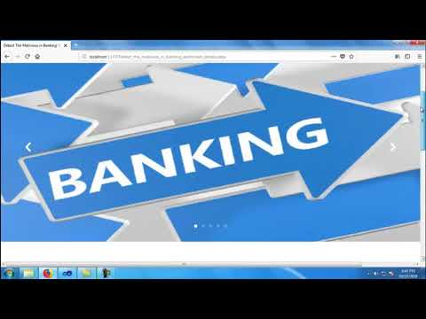 Malicious Detection Banking Management System