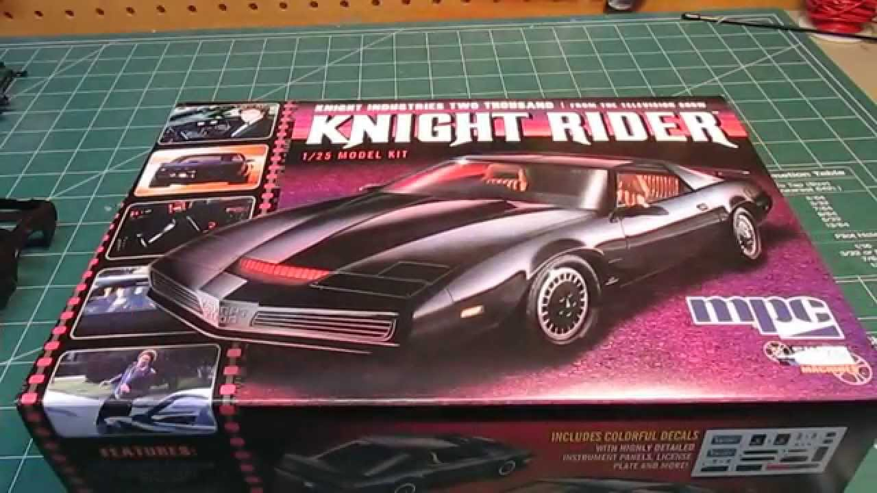 mpc knight rider kitt model kit open box review youtube. Black Bedroom Furniture Sets. Home Design Ideas