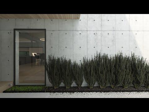 Concrete box  - CGI Architectural animation