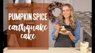 Pumpkin Spice Earthquake Cake Recipe