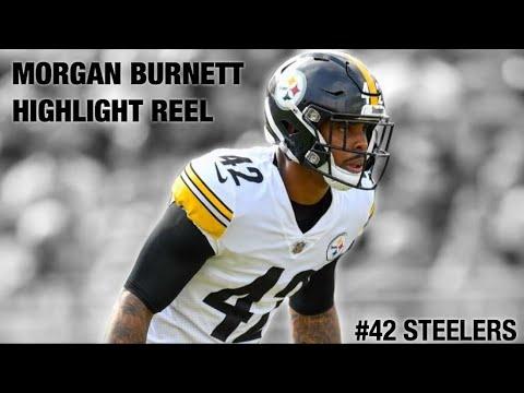 best service 84d45 f5c9e Morgan Burnett 2018 Highlight Reel - #42 Steelers