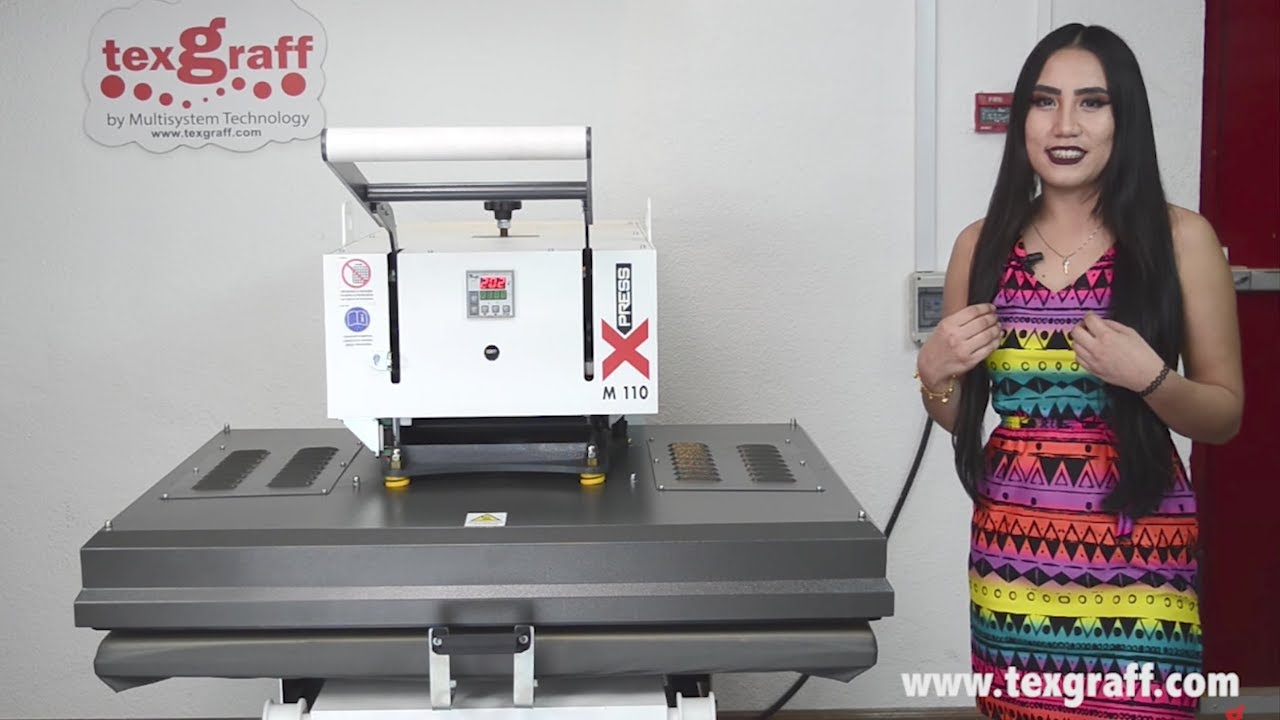 Industrial Sublimation Heat Press Machine up to 5XL Size - xPress M110