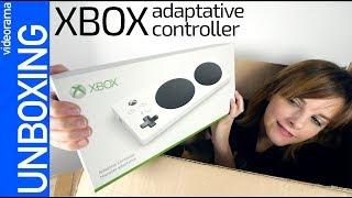 Xbox Adaptative Controller unboxing -MEGA mando ACCESIBLE-