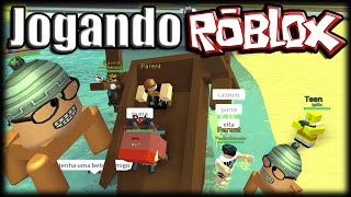Playing Roblox-Babies of Death and Total Bug V2