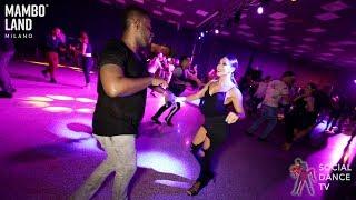 Michelle Morales & Michael TheProdigy Germain - Salsa Social Dancing | Mamboland Milano 2019