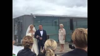 Свадебная церемония Татьяны Волосожар и Максима Транькова