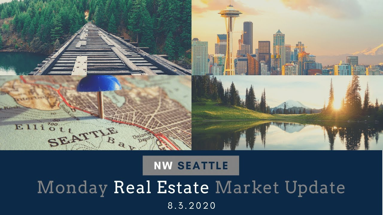 Monday NW Seattle Real Estate Market Update August 3rd, 2020