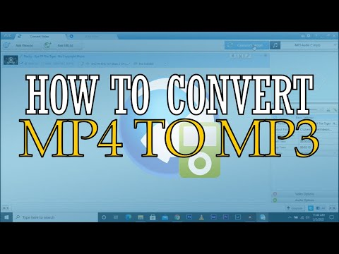 how to convert mp4 to mp3 in AVC converter free download