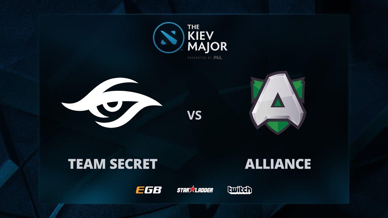 Secret vs Alliance, Game 2, The Kiev Major EU Main ...