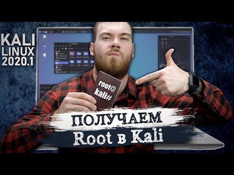 Как зайти под root в Kali Linux 2020.1?