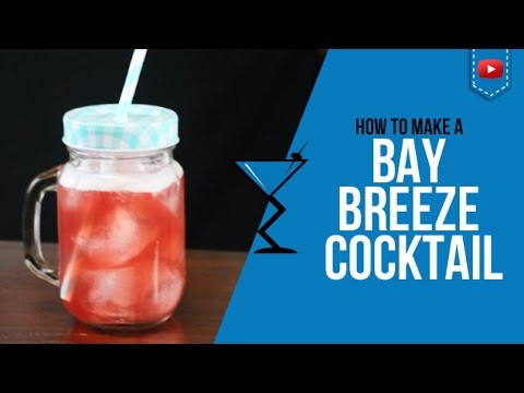 Bay Breeze Cocktail - How to make a Bay Breeze Cocktail Recipe by Drink Lab (Popular)