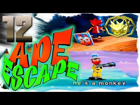 Cat and Howard Play Ape Escape Part 12 All Cleared Frozen Ocean and Icicle Cave
