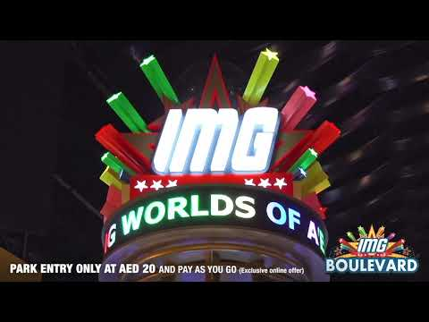 Worlds Coolest Indoor Theme Park in Dubai. IMG Worlds of Adventure