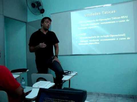Palestra com o APF Sandro Araújo