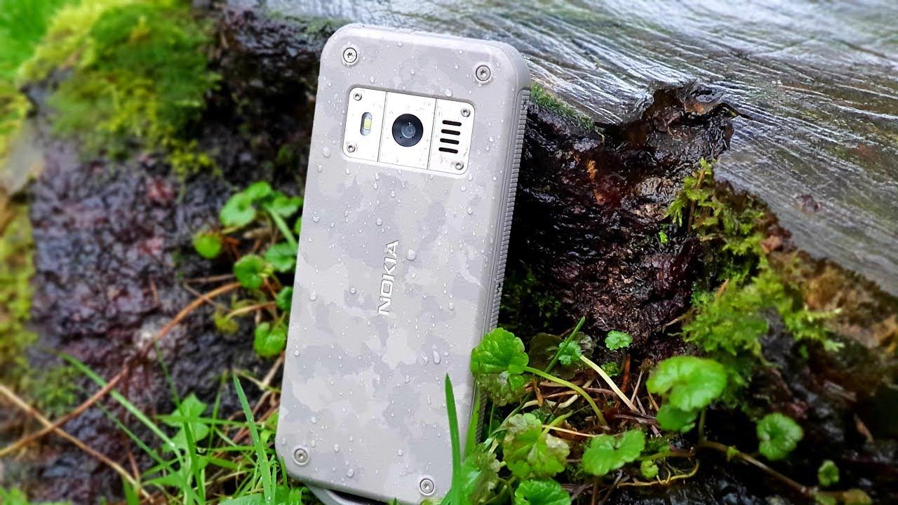 Nokia 800 Tough: огонь, вода и медные трубы!