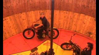 Indian Motorcycles  Wall of Death