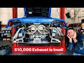 WHAT A $10,000 EXHAUST SOUNDS LIKE ON A LAMBORGHINI! * Feat HEATH HUSSAR*