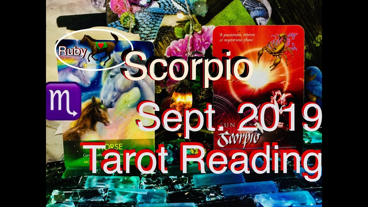 scorpio monthly tarot reading
