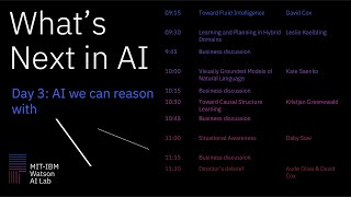 What's Next in AI:  AI We Can Reason With
