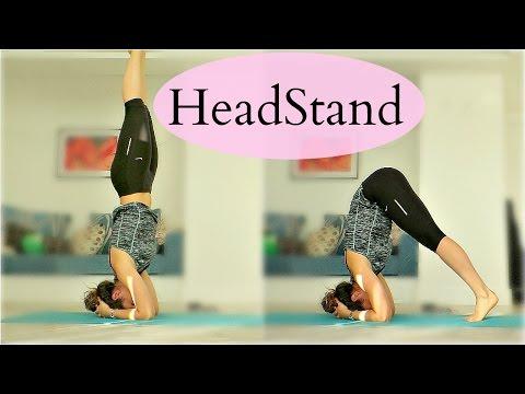 Как Научиться Стоять На Голове | Headstand