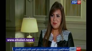ليلى علوي: لمة العائلة في العيد أهم من الخروج..فيديو