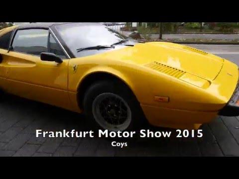 1509 Coys Frankfurt Motor Show Car Auction