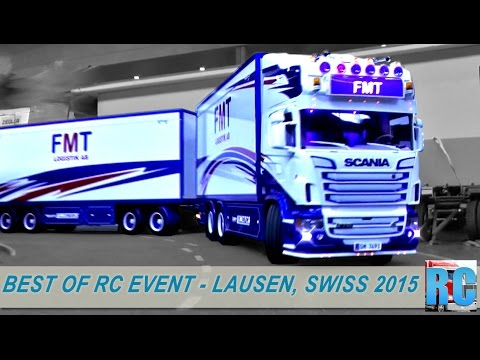 BEST OF RC TRUCK MEGA EVENT - LAUSEN, SWITZERLAND 2015-EXCAVTORS,WHELL LOADERS,FORK LIFT