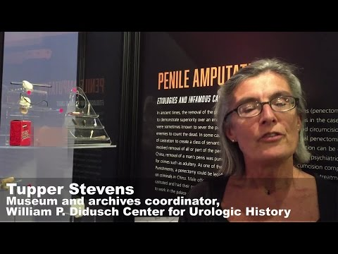 Extreme Urology exhibit highlights genital injuries