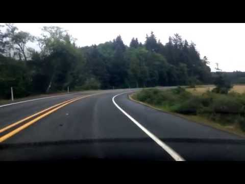 Drive from Naselle to Ilwaco, WA; From one village to the next