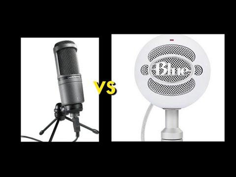audio technica at 2020 usb vs blue snowball usb microphones youtube. Black Bedroom Furniture Sets. Home Design Ideas