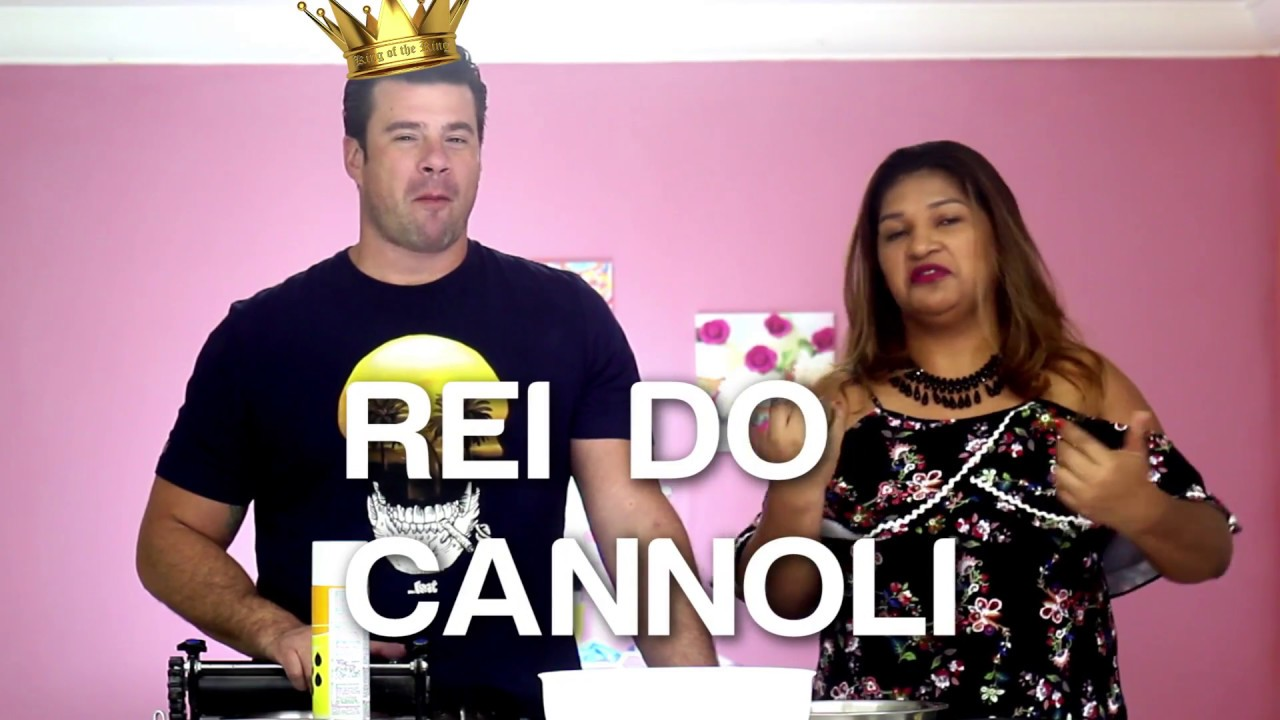 O Melhor Cannoli Do Brasil Com Jose Bake Off Youtube